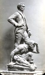 Maquette by Gilbert Doble (State Library of New South Wales)
