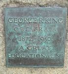 George R. King : 5-September-2011