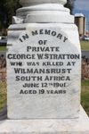 George W. Stratton : 30-September-2012