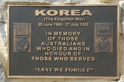 Korea Plaque: 18-August-2015