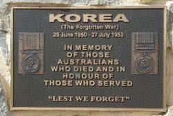 Korea Plaque: 18-August-2015