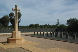 Cross of Sacrifice & Graves: 18-August-2015