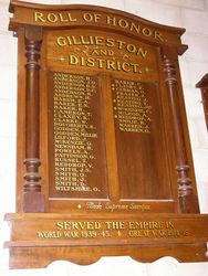 Gillieston School Honour Roll : 18-October-2014