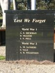 Girgarre & District War Memorial : 18-July-2012