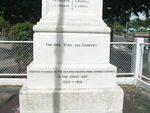 Goodna War Memorial Insc