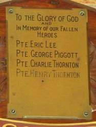 Fallen Heroes Plaque : 22-March-2014