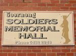 Goornong Soldiers Memorial Hall Plaque : 22-04-2014