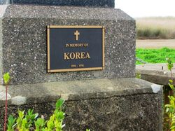 Korea Plaque: 11-July- 2016 (Sandra Brown)