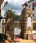 Gympie Memorial Gates -Left Pillars / March 2013