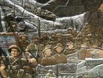 Post 1945 Mural Detail/ March 2013