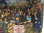 Cost of War Mural Detail/ March 2013