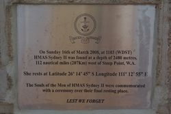 Location Plaque: 18-August-2015