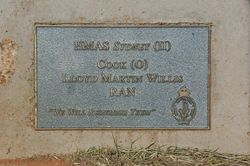 Willis Plaque:12-August-2015