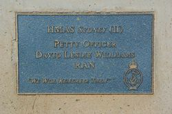Williams Plaque:12-August-2015
