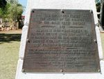 Halls Creek Memorial Plaque