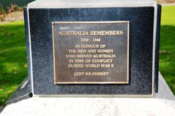 Australia Remembers: 02-September-2016