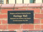 Heritage Wall : 18-January-2013