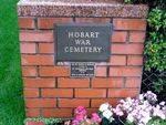 Hobart War Cemetery : 2007