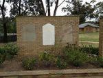 Memorial Wall & Garden 2 : October 2013
