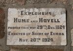 Hume & Hovell : 12-May-2013