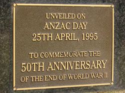 Dedication Plaque : 18-March-2015