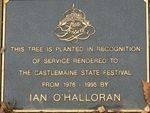 Ian O`Halloran : 28-May-2011