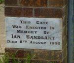 Ian Sandlant : 11-March-2012