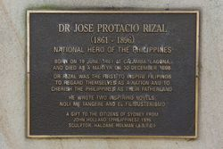 Rizal Plaque : 08-May-2015