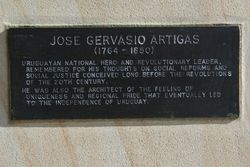 Artigas Plaque : 02-June-2015