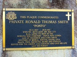 Smith Plaque: 09-July-2016