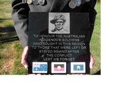 Indigenous Boer War Plaque : 19-December-2015