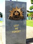 innisfail Cenotaph Lest We Forget : 20-07-2013