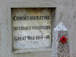 WW1 Plaque : 11-April-2015