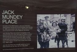 Mundey Plaque : 07-March-2015