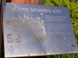 King Plaque : 23-October-2014