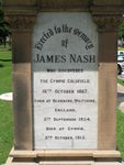James Nash Inscription / March 2013