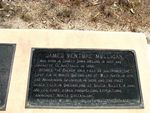 James Venture Mulligan Plaque