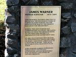 James Warner History Plaque