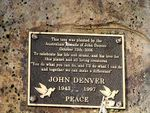 John Denver Plaque