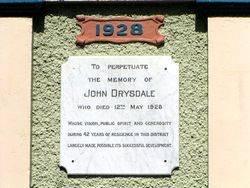 Drysdale Plaque 2 : 25-Aprl-2011
