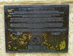 Original Plaque : 15-April-2014 (Graeme Saunders)