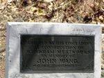 John Wang Plaque