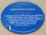Starkie Heritage Plaque : 18-04-2014