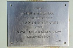Bofors Gun Plaque : 15-August-2015