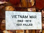 Kalbarri War Memorial Plaque Vietnam