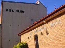 RSL Memorial Hall 2 : 15-September-2014