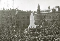 15-July-1920 : Unveiling : State Library of South Australia - B-71518-1