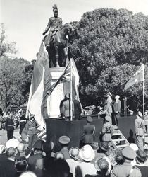 25-April-1950: Unveiling : State Library of South Australia - B-71526