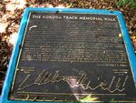 Kokoda Track Memorial Walk Plaque