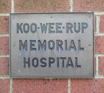 Koo Wee Rup Memorial Wall : 09-June-2012
